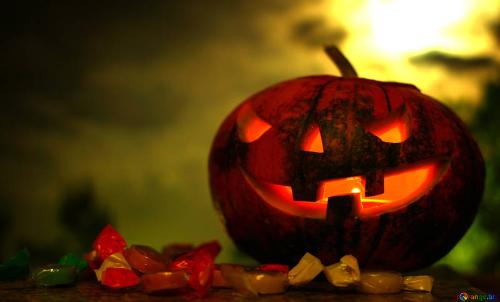 halloween teschio
