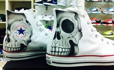 scarpe con teschio